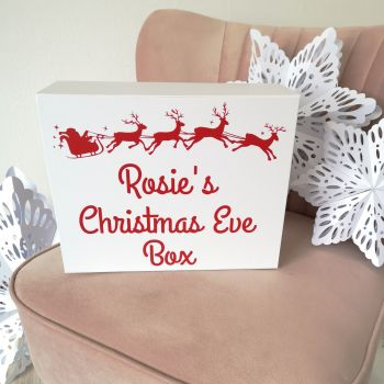 Santa's Sleigh Christmas Eve Box