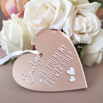 Will you be my...? Bridal Party Heart