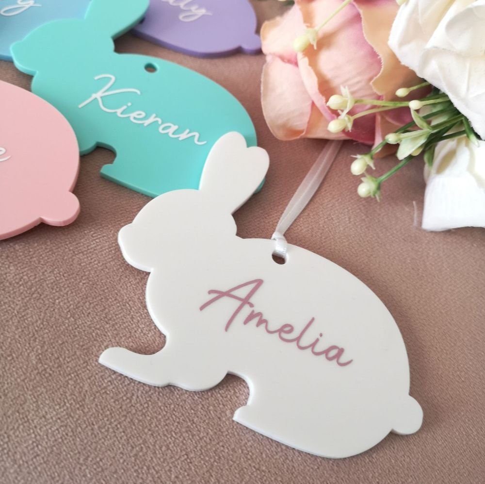 Personalised Bunny Tags