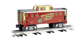 Ringling Bros. And Barnum & Bailey™ N5c Porthole Caboose #2