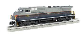 Central of Georgia #8101 GE DASH 9 w/ True Blast® Plus