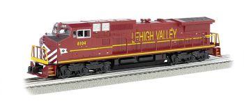Lehigh Valley #8104 GE DASH 9 w/ True Blast® Plus