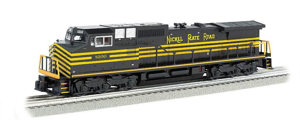 Nickel Plate #8100 GE DASH 9 w/ True Blast® Plus