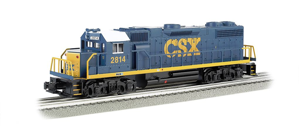 CSX® #2814 (Dark Future) - GP-38 Powered