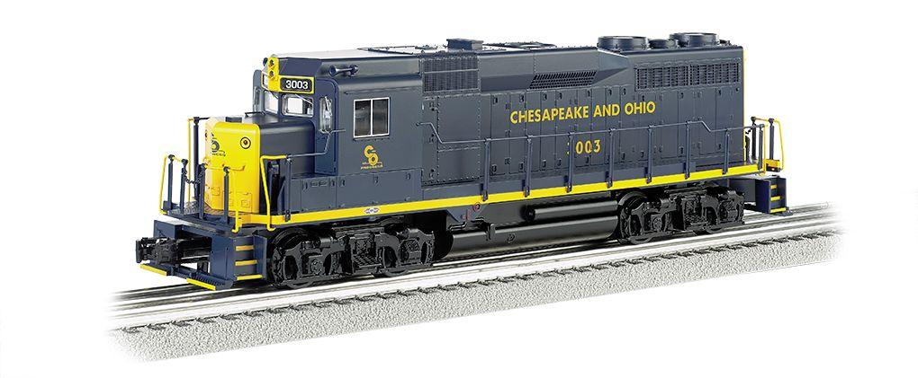 Chesapeake & Ohio #974 - GP30 w/ dynamic brake