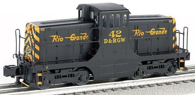 Denver & Rio Grande Western #42 - GE 44 Ton Switcher