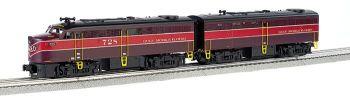 Gulf Mobile & Ohio#728 FA1 & #B4 FB1