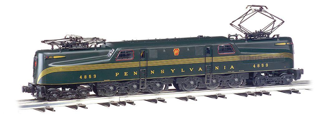 GG-1 Pennsylvania #4859 - Green 5 Stripe