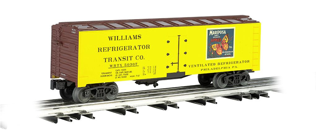 Mariposa Apples - 40' Refrigerated Steel Box Car