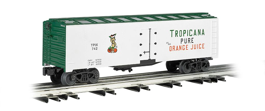 Tropicana - 40' Refrigerated Steel Box Car
