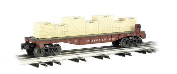 Seaboard® - Flat car w/ crates