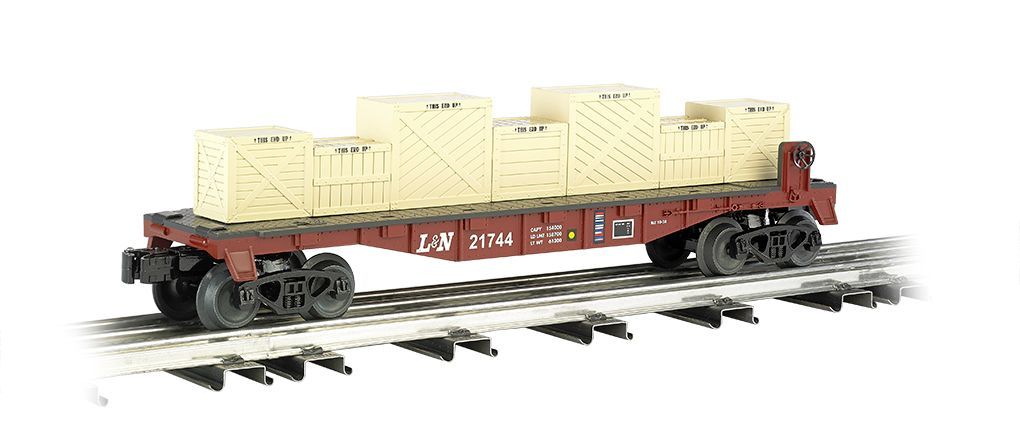 Louisville & Nashville® - Flat car w/ crates