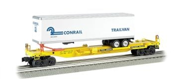 Front Runner with Conrail Trailer