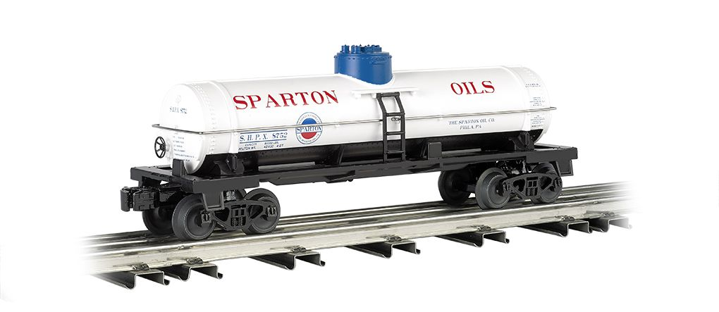 Sparton Oil - Single-Dome Tank Car