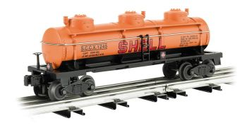 Shell - Three-Dome Tank Car