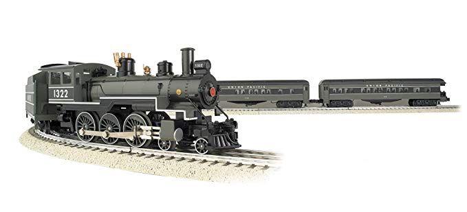 Union Pacific Greyhound Steam Passenger Set