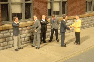 Businessmen - O Scale
