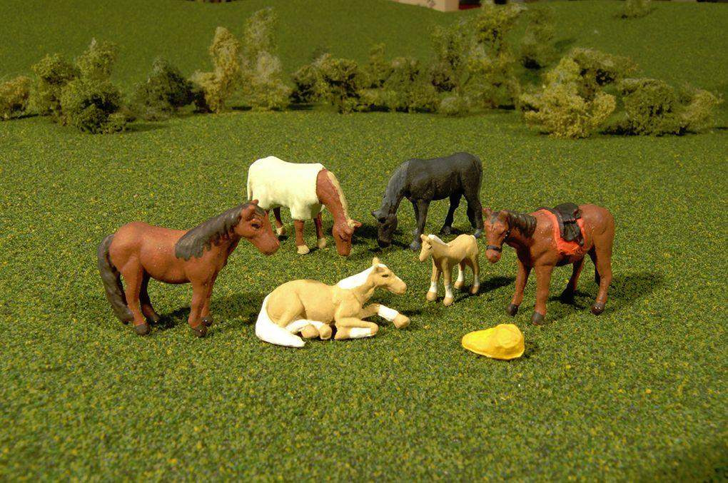 Horses - O Scale