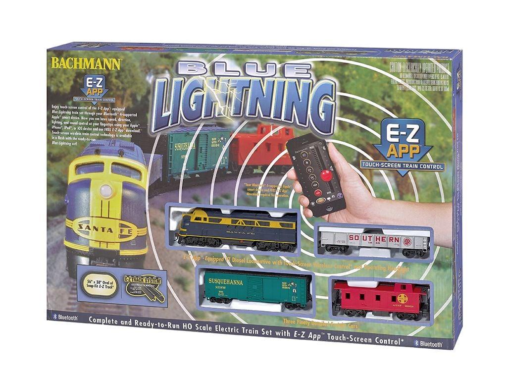 Blue Lightning - E-Z App® Train Control ( HO Scale )