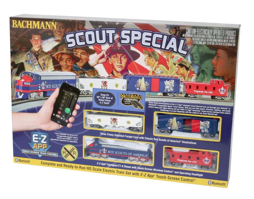 Scout Special - E-Z App™ Train Control (HO Scale )