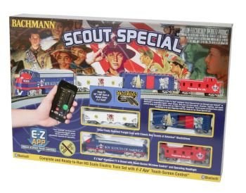 Scout Special - E-Z App Train Control (HO Scale )