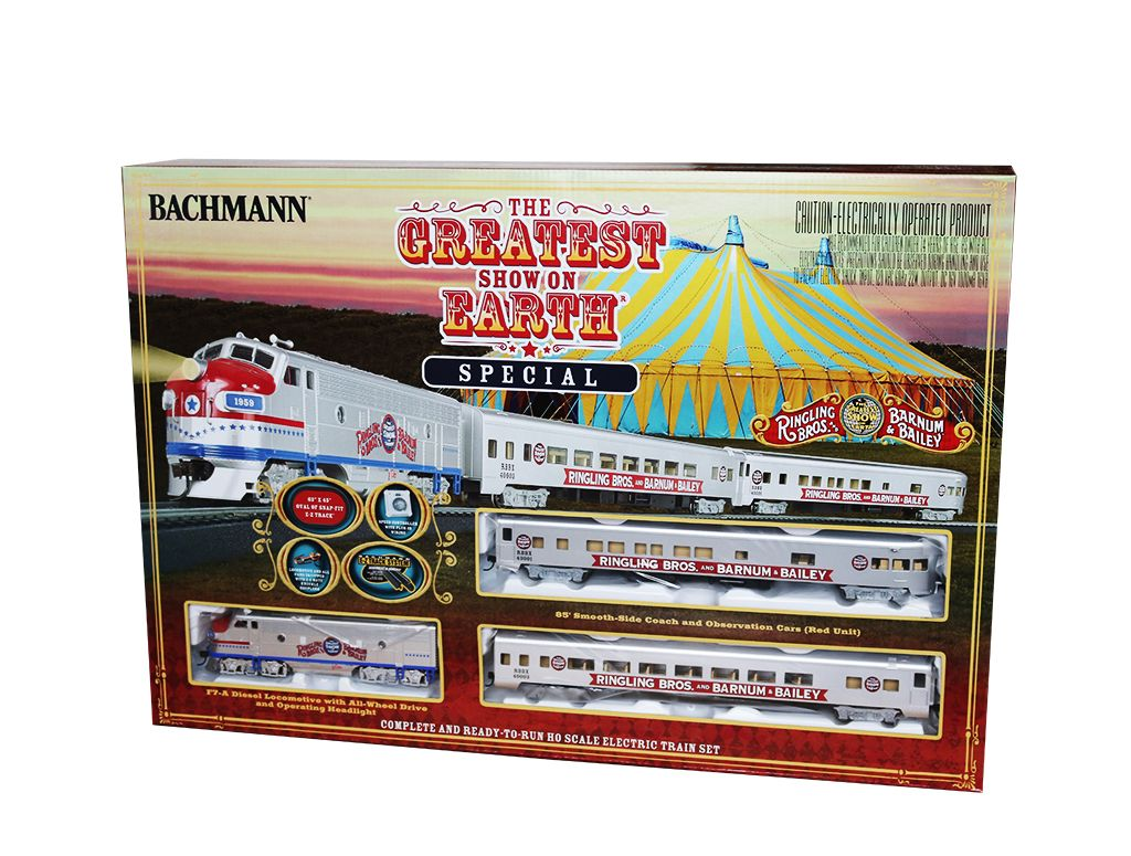 Ringling Bros. & Barnum & Bailey Greatest Show on Earth Special (HO Scale)