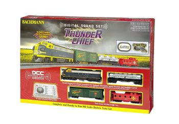 Thunder Chief with Digital Sound (HO Scale)