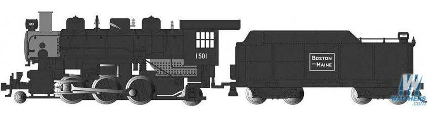 Boston & Maine #1501 - 2-6-2 Prairie (HO Scale)