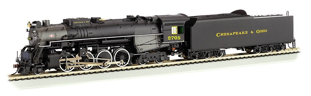 Chesapeake & Ohio® Kanawha #2705 -DCC Sound (HO 2-8-4 Berkshire)