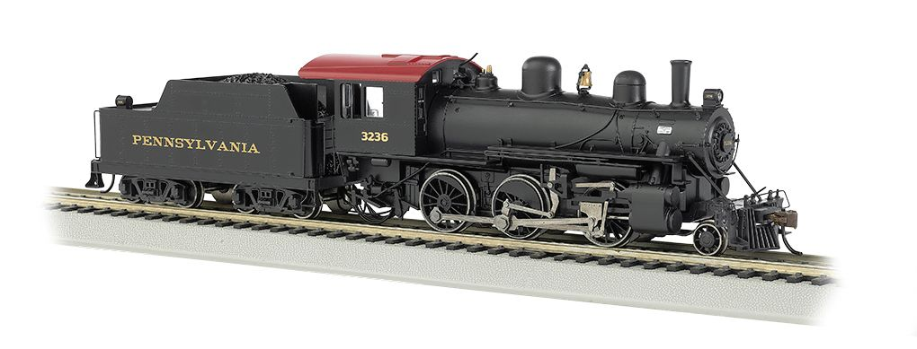 Pennsylvania #3236 ALCO 2-6-0 - E-Z App® Train Control ( HO Scale)