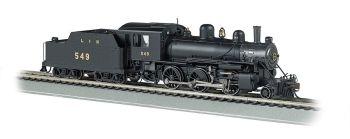 Louisville & Nashville #549 ALCO 2-6-0 - E-Z App Train Control (HO Scale)