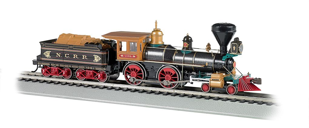 NCRR - The York - DCC Sound Value (HO American 4-4-0)