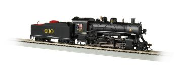 Southern #630 Baldwin 2-8-0 Consolidation - DCC Sound Value