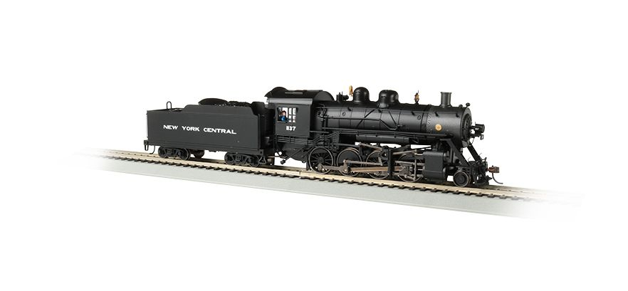 NYC #1137 Baldwin 2-8-0 Consolidation - DCC Sound Value ( HO Scale )