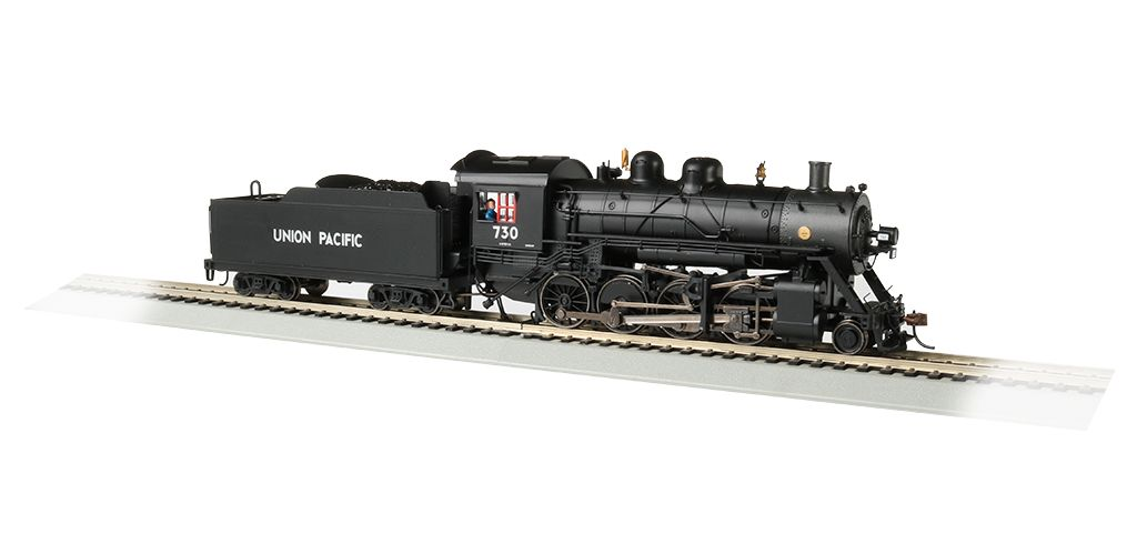 UP® #730 Baldwin 2-8-0 Consolidation - DCC Sound Value ( HO Scale)
