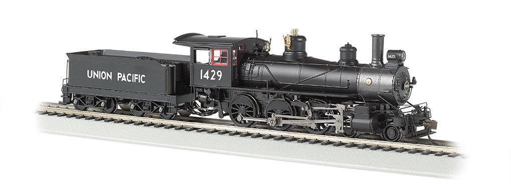 Union Pacific® #1429 - Baldwin 4-6-0 - DCC Sound Value (HO)