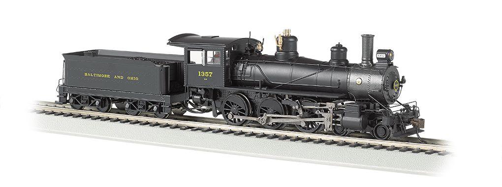 Baltimore & Ohio® #1357 - Baldwin 4-6-0 (HO Scale) DCC Ready