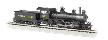 Canadian Pacific #847 - Baldwin 4-6-0 (HO Scale) DCC Ready