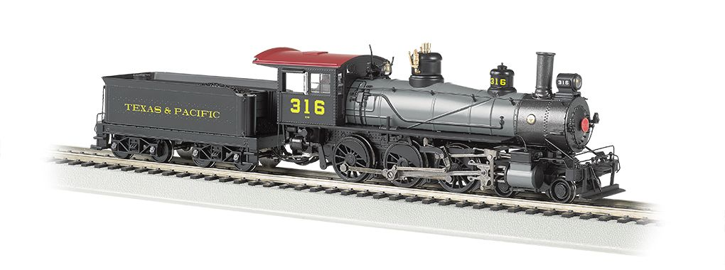 Texas & Pacific™ #316 - Baldwin 4-6-0 (HO Scale) DCC Ready