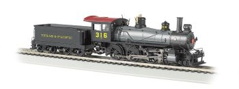 Texas & Pacific #316 - Baldwin 4-6-0 (HO Scale) DCC Ready