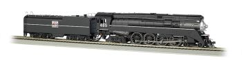 Western Pacific #485 - GS64 4-8-4 (HO Scale) DCC