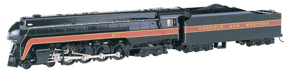 Norfolk & Western 4-8-4 Class J # 611 Rail Fan - DCC Sound Value ( HO Scale