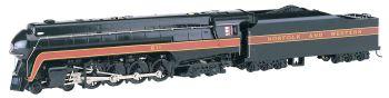 Norfolk & Western 4-8-4 Class J # 611 Rail Fan - DCC Sound Value ( HO Scale )
