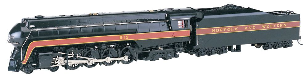 Norfolk & Western 4-8-4 Class J # 613 - DCC Sound Value (HO Scale )