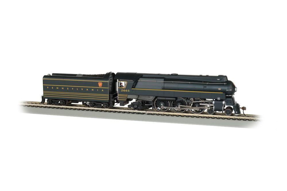 PRR #2665 - Streamlined K4 4-6-2 - DCC WowSound® ( HO Scale )