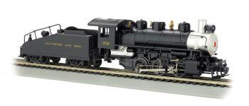 Baltimore & Ohio - USRA 0-6-0 w/ Slope tender (HO Scale)