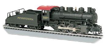 Pennsylvania #3234 - USRA 0-6-0 w/ Slope tender (HO Scale)