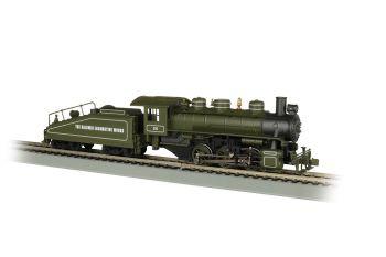 Baldwin Loco Works -USRA 0-6-0 W/Smoke & Slope Tender-DCC(HO)