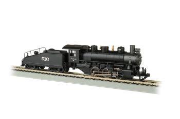 Wabash #516 -USRA 0-6-0 W/Smoke & Slope Tender-DCC(HO)
