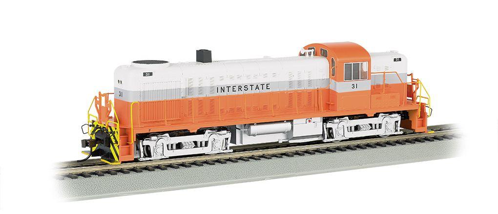 Interstate #31 - DCC Sound Value (HO ALCO RS-3)